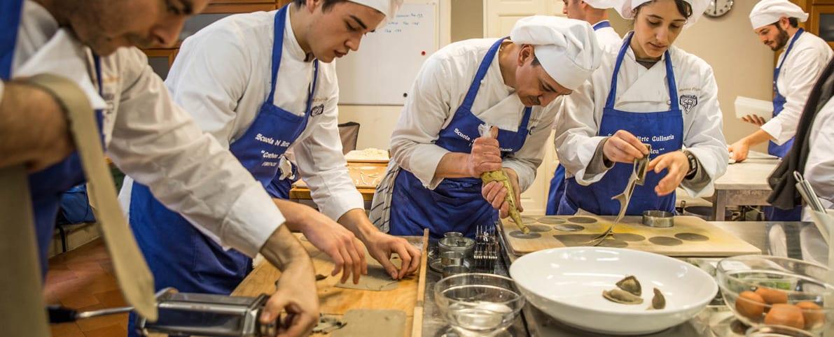 לימודי בישול באיטליה